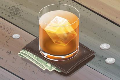 Whiskey illustration