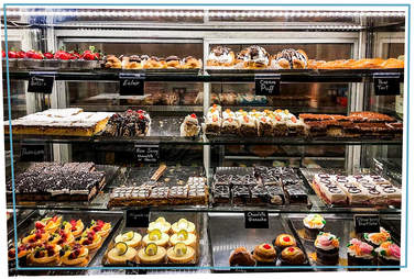 modern pastry shop