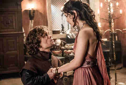 tyrion and shae game of thrones