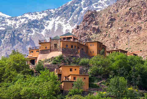 Kasbah du Toubkal, Imlil in the Atlas Mountains