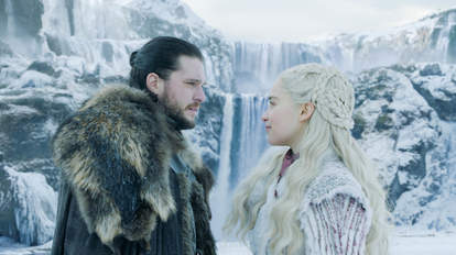 daenerys jon game of thrones season 8 premiere