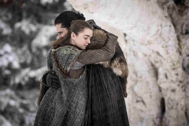 game of thrones season 8 arya jon