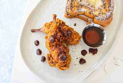 Chicken Fried Quail at Fort Oak