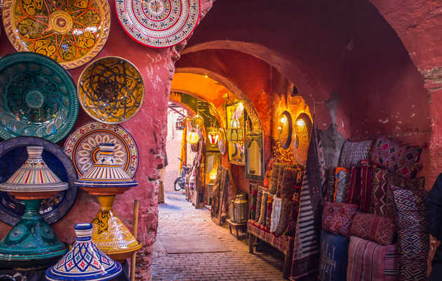 Shopping and Art-Hopping in Morocco's Vibrant Cultural Capital