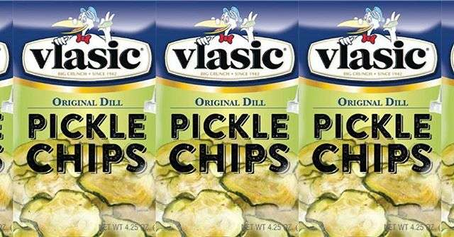 Pucker Up, Vlasic Is Making Crispy Chips Made From Actual Pickles