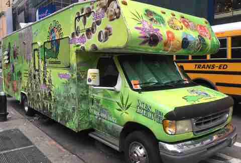 weed truck