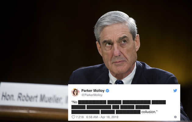 These Memes About the Redacted Mueller Report Are Making Today Suck Less