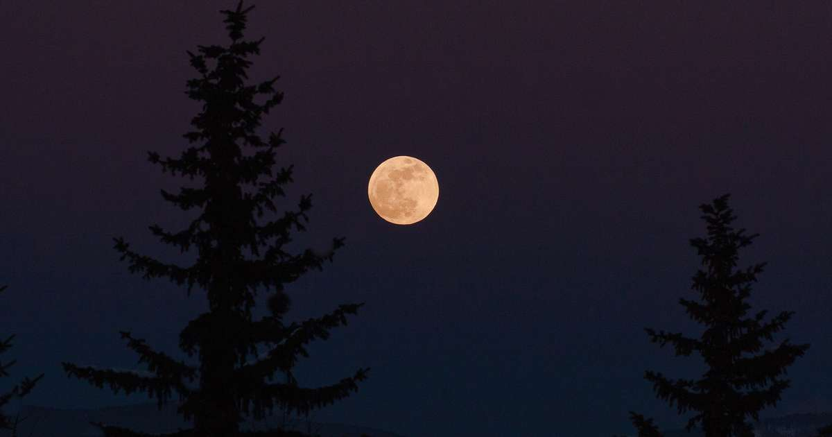 This Week's 'Pink Moon' Isn't Actually Pink. Here's What You Need to Know.