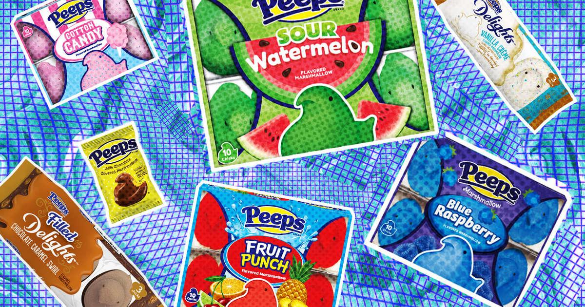 15 Peeps Flavors, Ranked