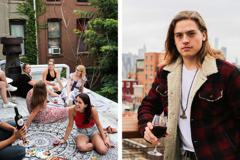 Dylan Sprouse and his meadery All-Wise