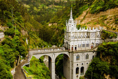'Las Lajas' near the city of Ipiales.