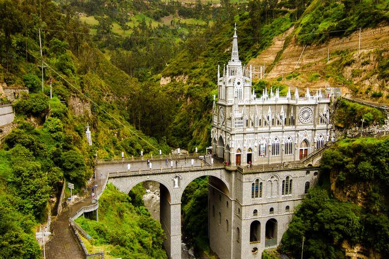 'Las Lajas' near the city of Ipiales.