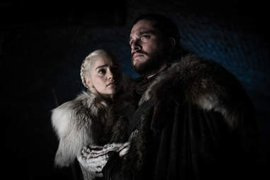 dany and jon snow game of thrones