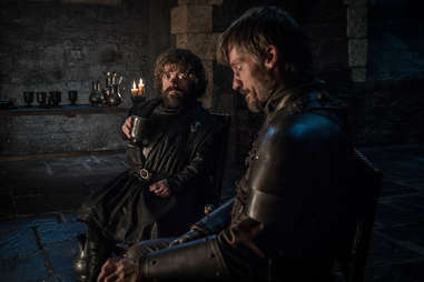 tyrion and jaime lannister at winterfell