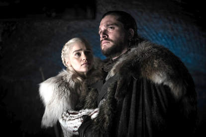 jon and dany game of thrones
