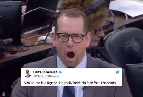 Nick Nurse Meme