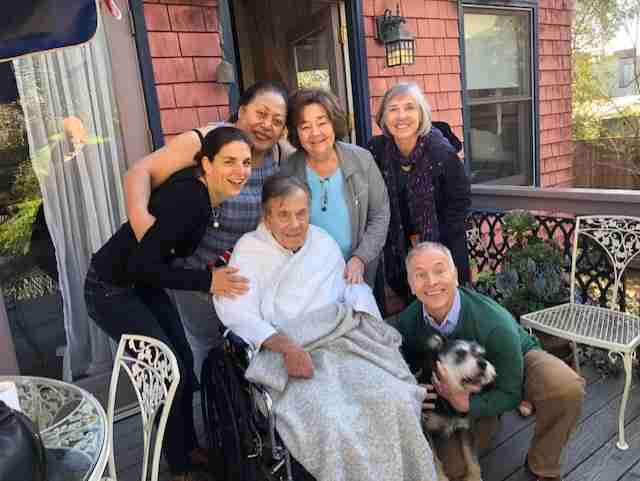 Senior dog finds new home thanks to his guardian's last wish