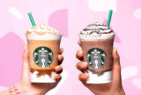 Starbucks Adds Mocha Cookie Crumble Caramel Ribbon