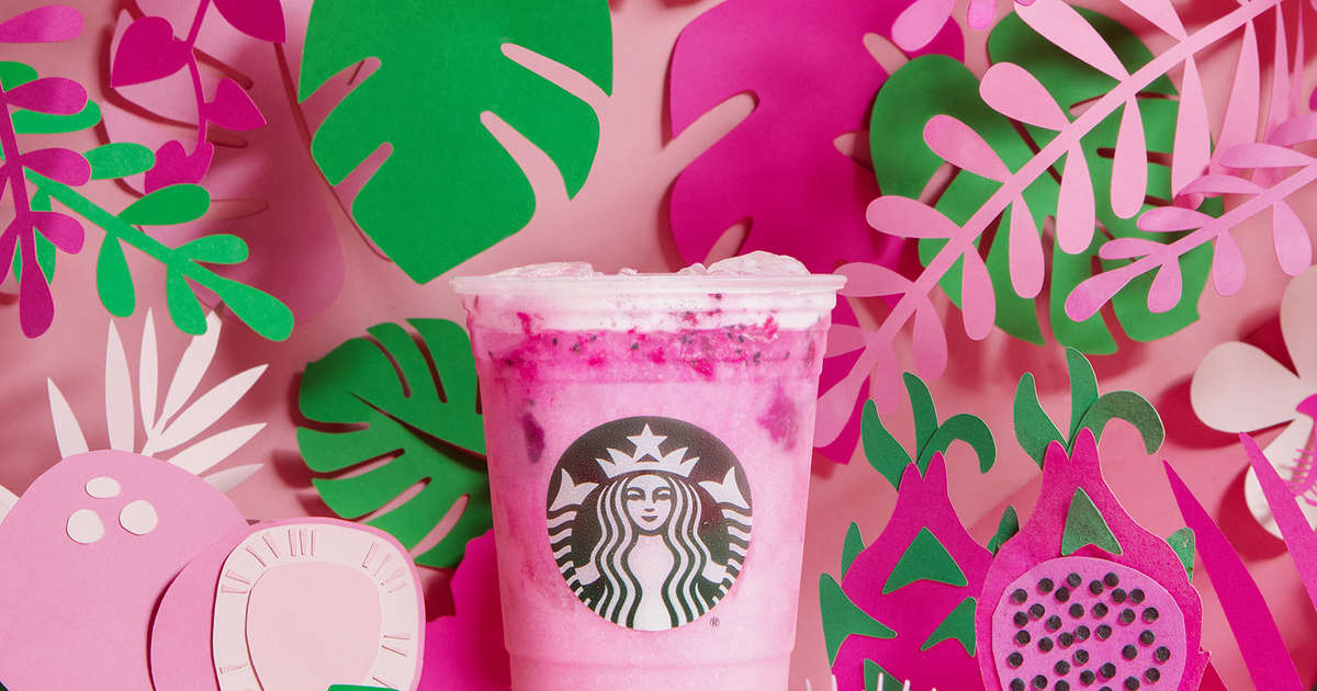Starbucks Is Unleashing This Wildly Pink 'Dragon Drink'