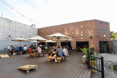 brooklyn cider house Outdoor Deck