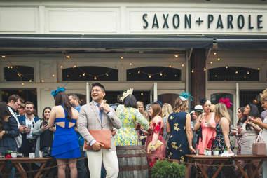 saxon + parole derby day