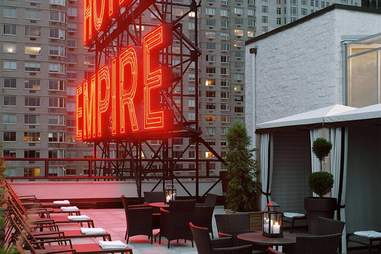 the empire hotel rooftop