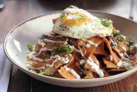 bankers hill bar chilaquiles