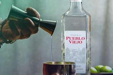 Pueblo Viejo tequila for margarita