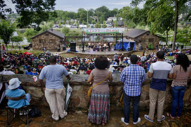 Newly renovated Avondale Park boasts an outdoor amphitheater and 36 acres to explore