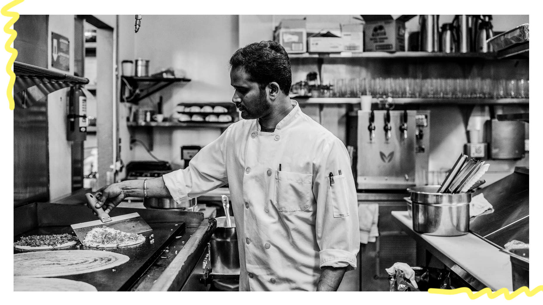 On The Line: Four Line Cooks Talk Cooking in American