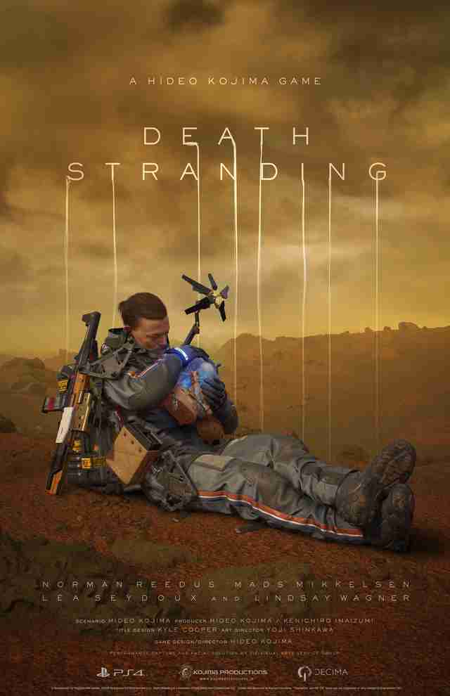 Death Stranding Beached Thing Concept Art