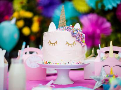 Enjoyable Childs Unicorn Birthday Cake Features Nsfw Horn Thrillist Birthday Cards Printable Inklcafe Filternl