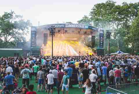 summerstage nyc