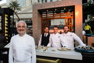 Michelin-starred Chef Guy Savoy himself will feed you.