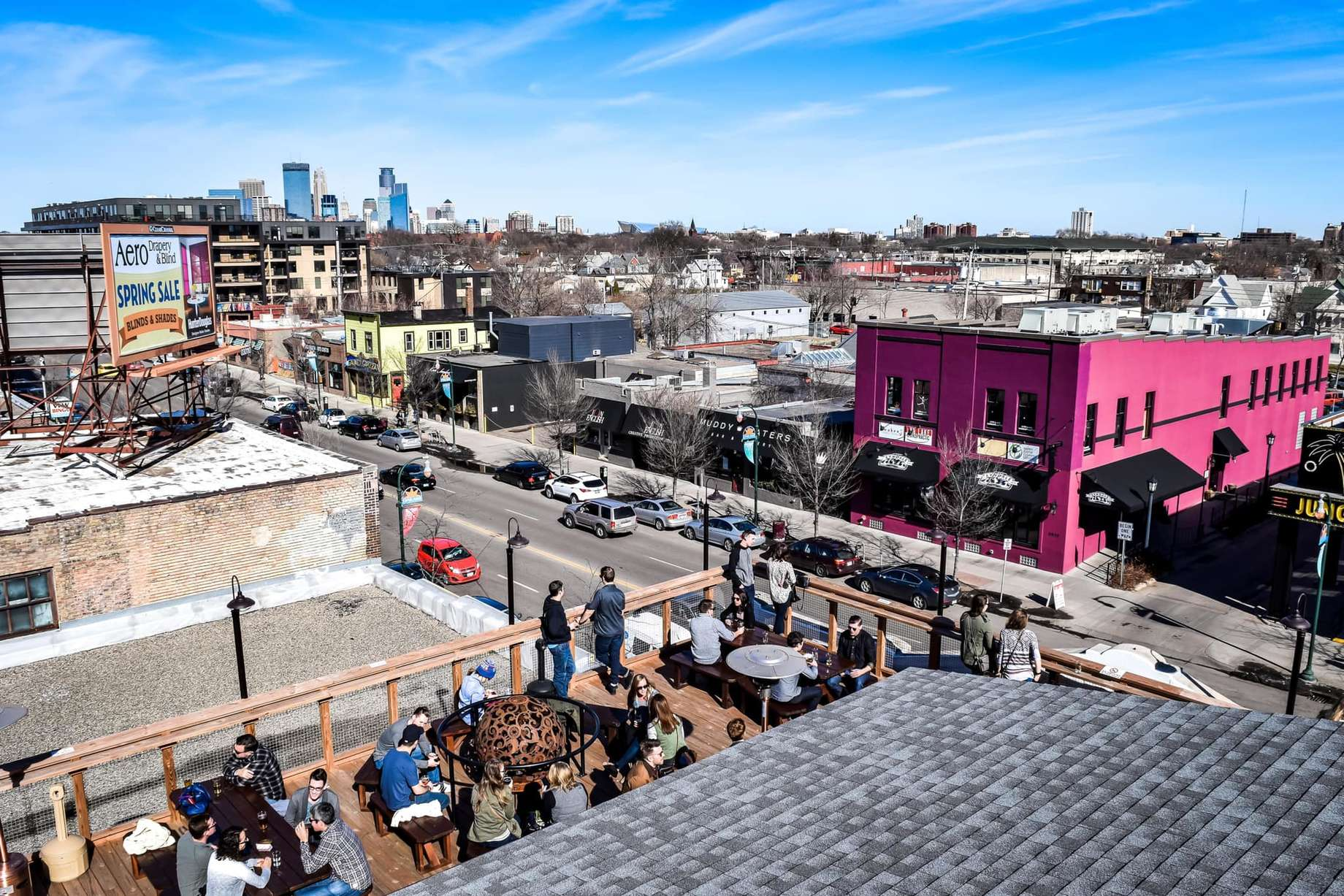 Best Rooftop Bars In Minneapolis St