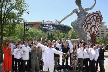 Vegas Uncork'd/Opening Ceremony at The Park