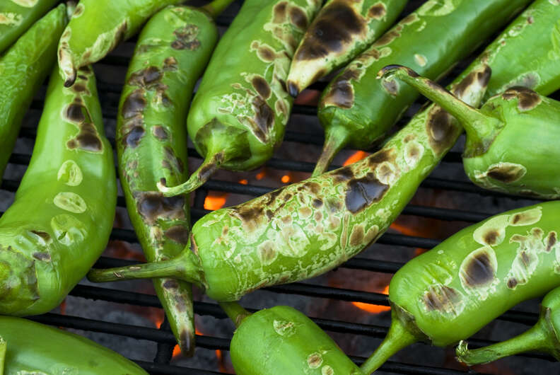 roasted anaheim peppers