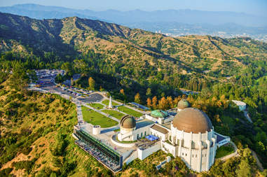 Griffith Observatory, Mount Hollywood, Los Angeles