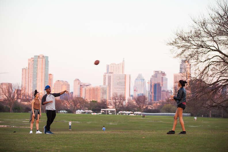 Zilker Park, Austin.