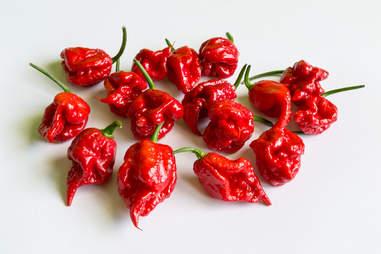 carolina reaper peppers chili chile