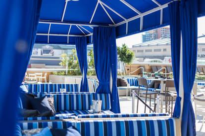 hotel palomar lustre rooftop bar