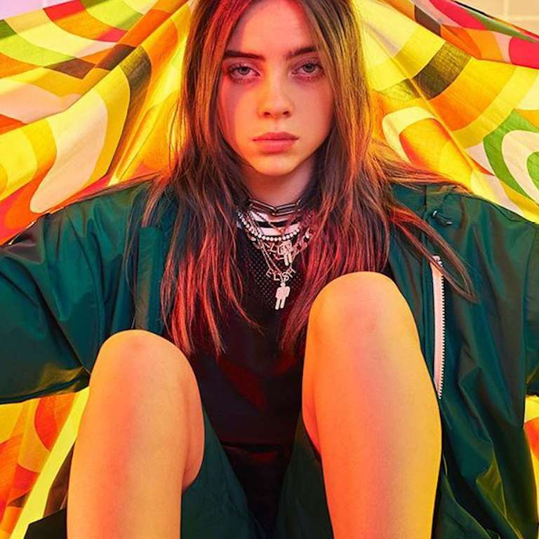 fc82d5c22685d Billie Eilish Revealed Why She Wears Baggy Clothes in Calvin Klein ...