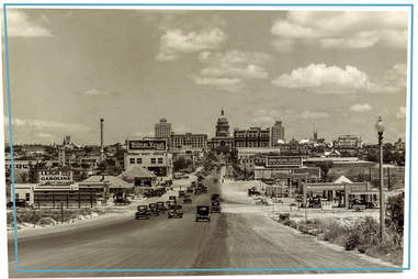 South Congress Avenue looking north