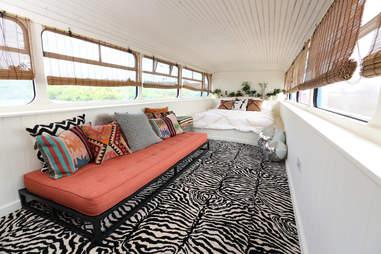 spice girls bus airbnb
