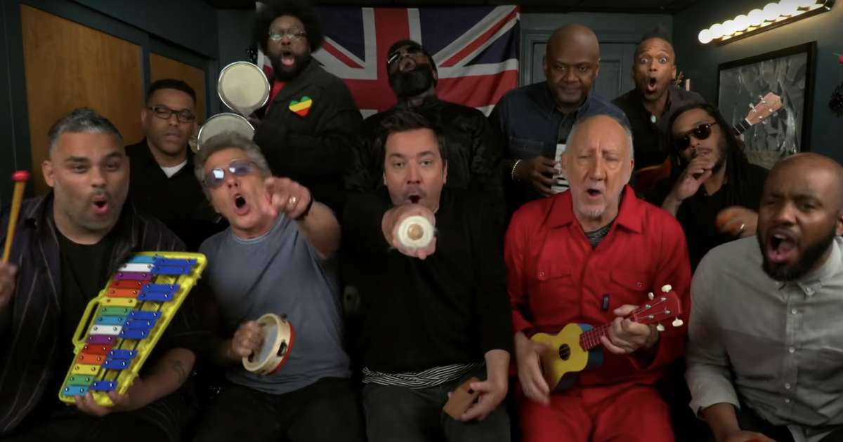 The Who, Jimmy Fallon & The Roots Played Together on Classroom Instruments