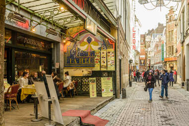 Rue des Bouchers is one of 19 distinct districts ripe for exploring.