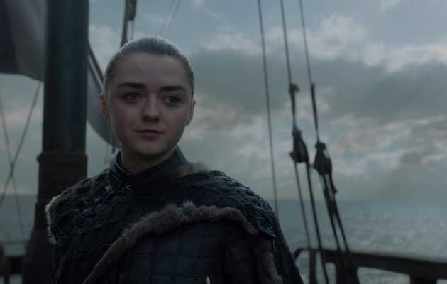 Here's Where Arya's Going at the End of 'Game of Thrones'