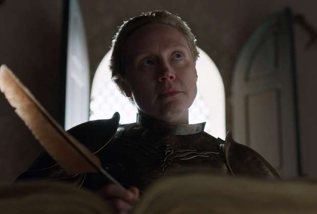 What Was Brienne Writing in That Big Ol' Book?