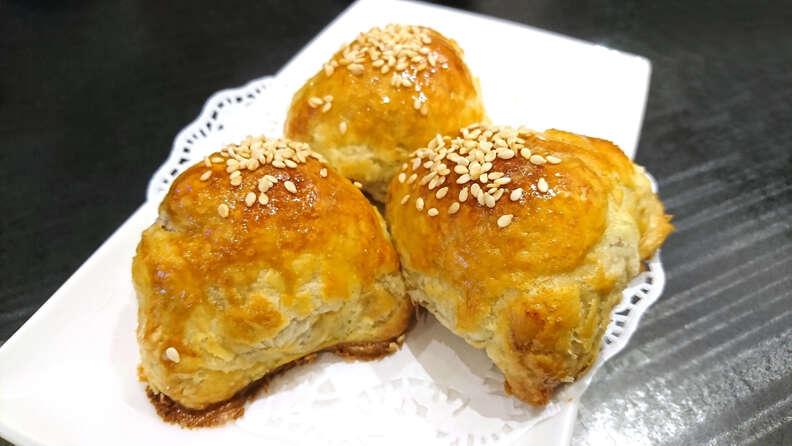char siu so barbecue pork pastry