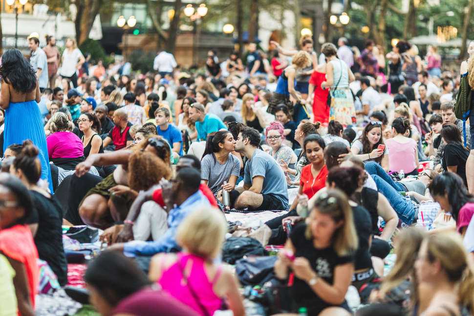 Bryant Park Movie Nights